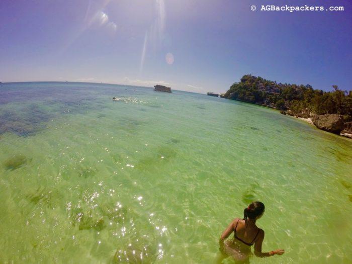 Time for a Swim - Diniwid Beach, Boracay, Philippines