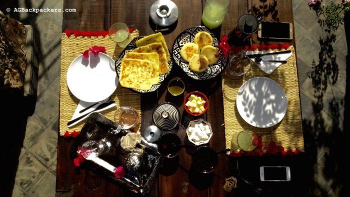 Petit déjeuner Details - Koheilan Lodge Farm