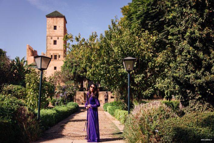 Jardin Andalou de la Kasbah des Oudayas à Rabat
