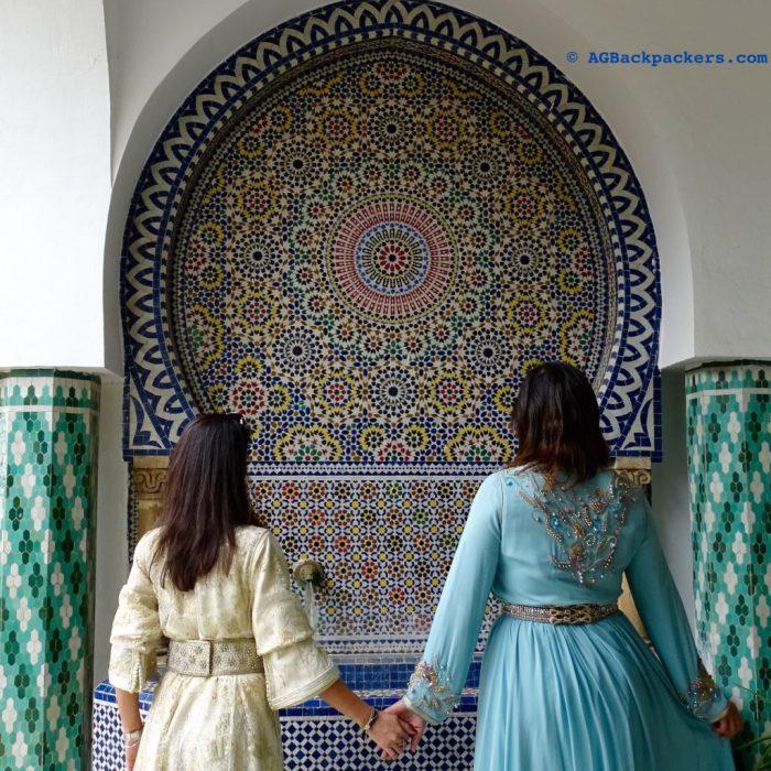 Zelij Details - Meknes