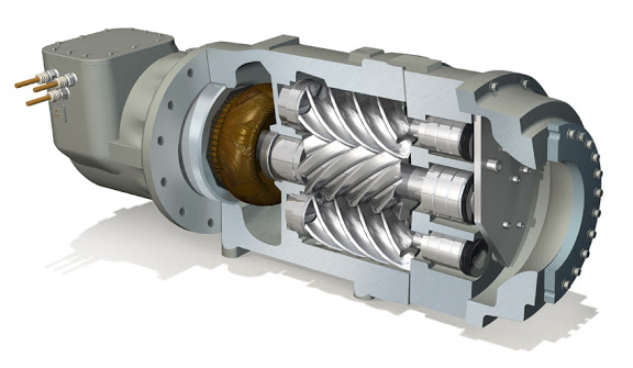 TriRotor Cutaway