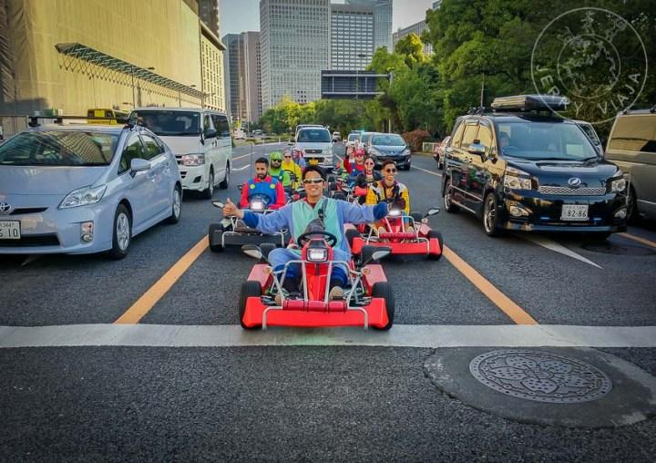 Carreras de Mario Kart en las calles de Shibuya.