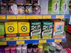 Yerba Canarias en supermercado de NZ