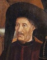 Retrato de Enrique. Pintor Nuno Gonçalves (1470)  Fuente: Wikipedia
