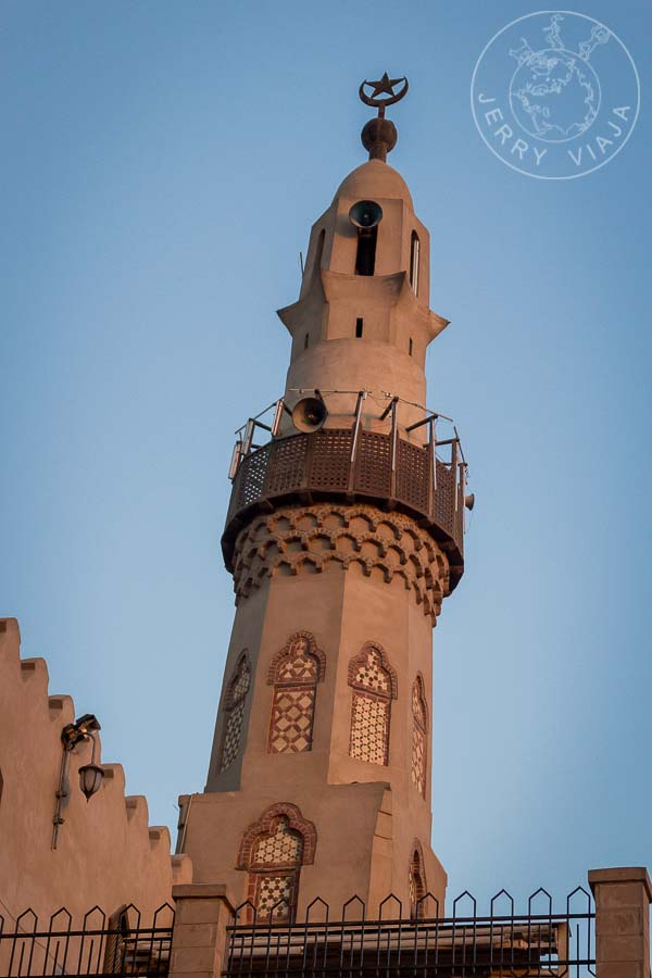 Mezquita Sufí en el medio del Templo de Luxor