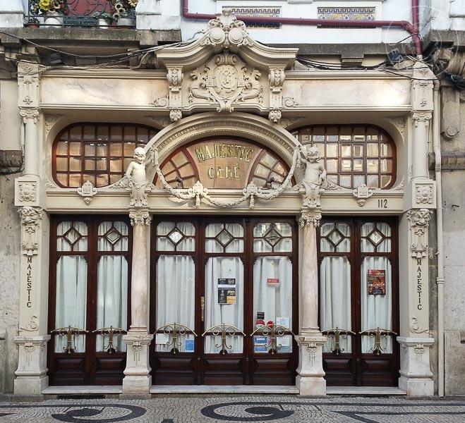 Café Majestic en Oporto, Portugal.