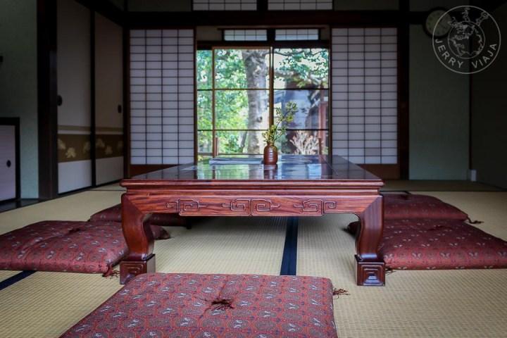 Casa tradicional en Nara, Japón