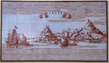 Qué ver en Ceuta. Mural de Azulejos