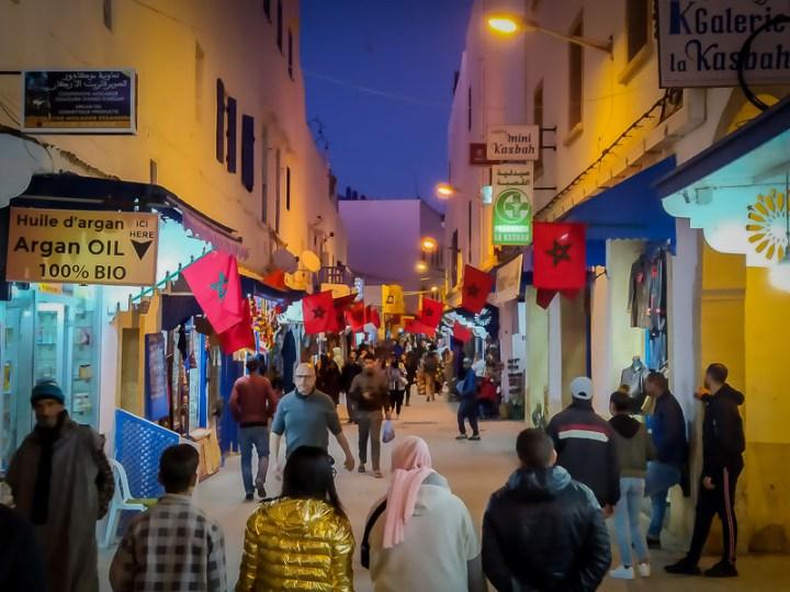 Avenue Mohamed Zerktouni, Essaouira