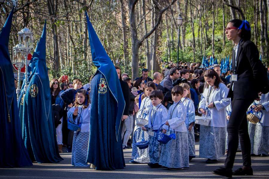 Penitente. Semana Santa en Granada, España. Procesión