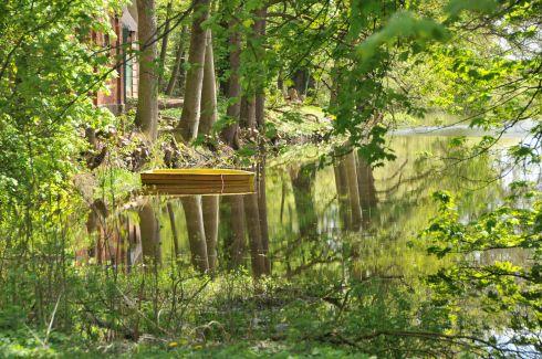 Teich am Herrenhaus Jersbek (Quelle Bruno Krautz)