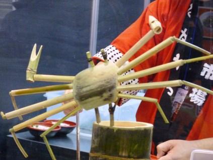 Bamboo crab