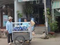 Street vendor - outside a home