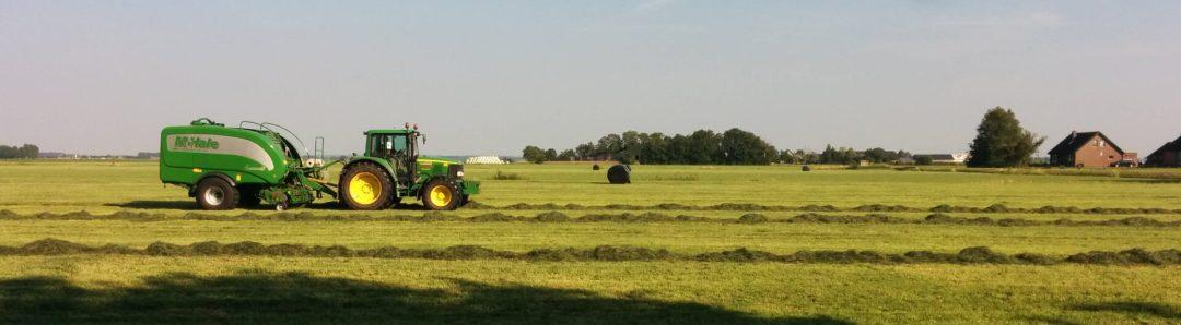Landbouwbedrijf in Kamperveen