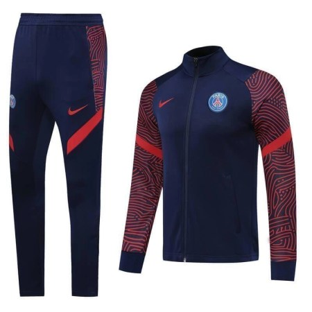 20/21 PSG Red & Blue Tracksuit - Jersey Loco