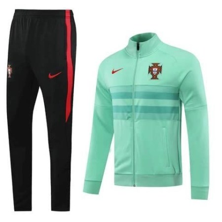 20/21 Portugal Light Green Tracksuit - Jersey Loco