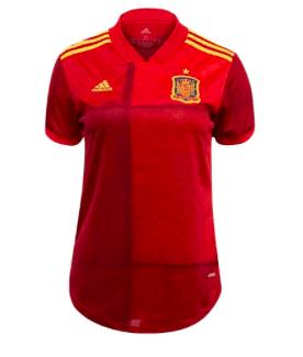 20/21 Spain Women Home Jersey - Jersey Loco