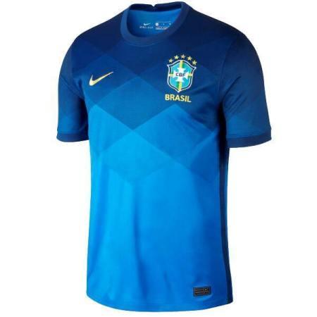Copy of 20/21 Brazil Away Jersey - Jersey Loco