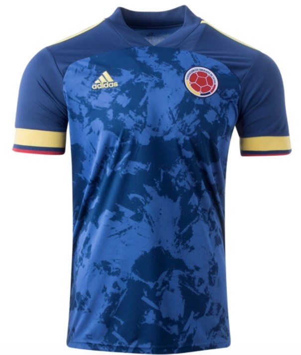 Colombia 20/21 Away Jersey - Jersey Loco