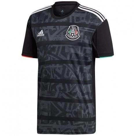 Mexico 2019 Home Gold Cup Jersey - Jersey Loco