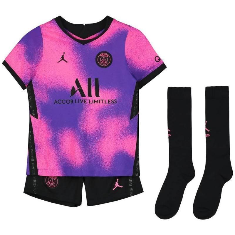 20/21 PSG Fourth Kids Kit - Jersey Loco
