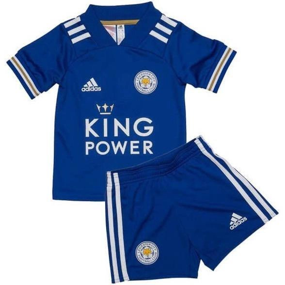20/21 Leicester City Home Kids Kit - Jersey Loco