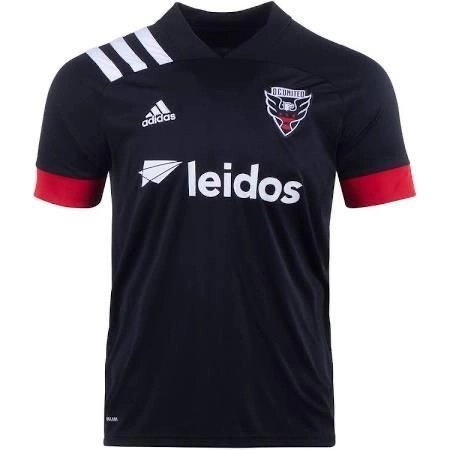 20/21 DC United Home Jersey - Jersey Loco