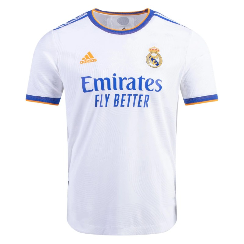 21/22 Real Madrid Home Kit Front Image