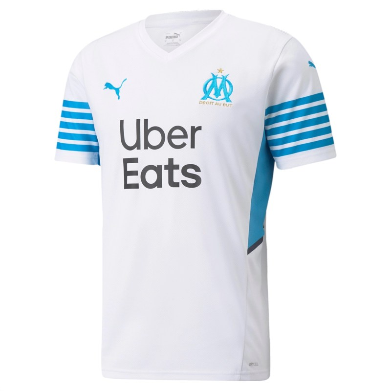 21/22 Marseille Home Kit Front Image