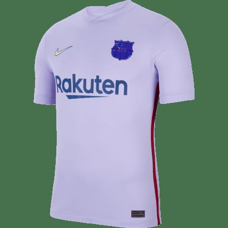 21/22 Barcelona Away Kit Front Image