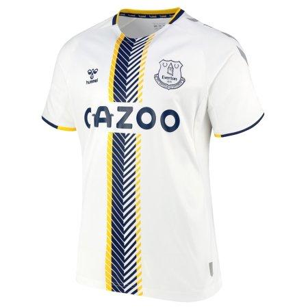 21/22 Everton Third Kit Front Image