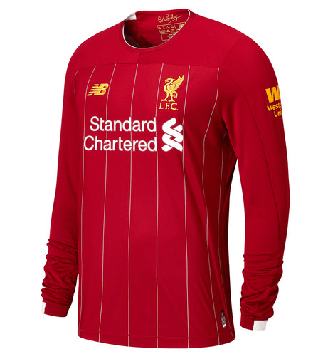 the best attitude 12a23 83db1 Liverpool Home 2019/20 Long Sleeve Kit