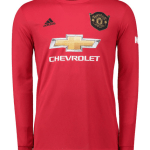 Buy Man United Long Sleeve Home Jersey
