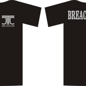 T-shirt-BREACHER-UP