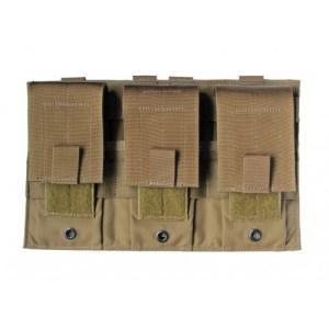 Modular (MOLLE) Universal Rifle Magazine Pouch, Triple, Type 1