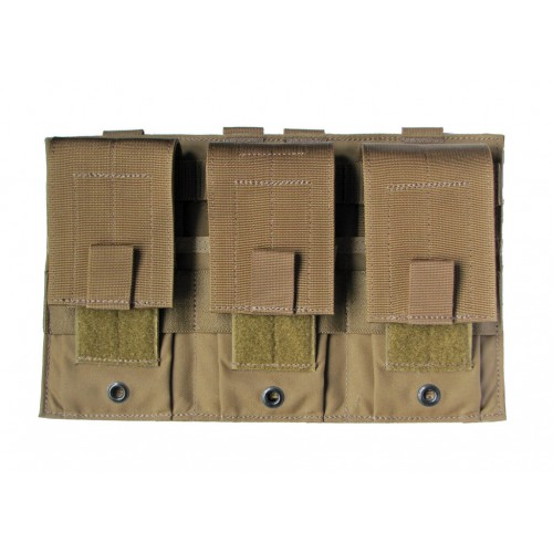 Modular (MOLLE) Universal Rifle Magazine Pouch, Triple, Type 1