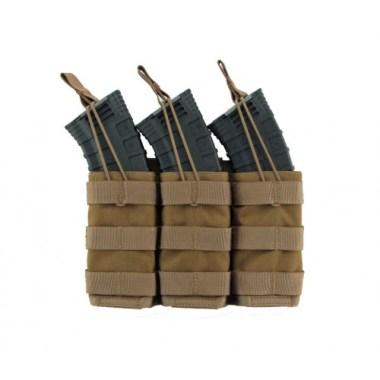 Modular (MOLLE) Rifle Magazine Pouch, Triple, Type 2, AK47