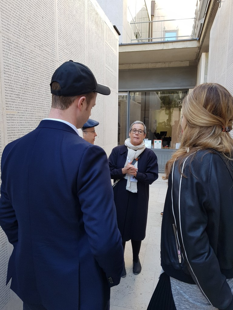 Shoah Memorial in Paris with Léontine as a Tour Guide in Paris