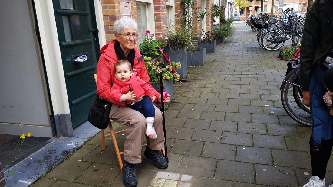 Amsterdam Stolpersteine stumble stones