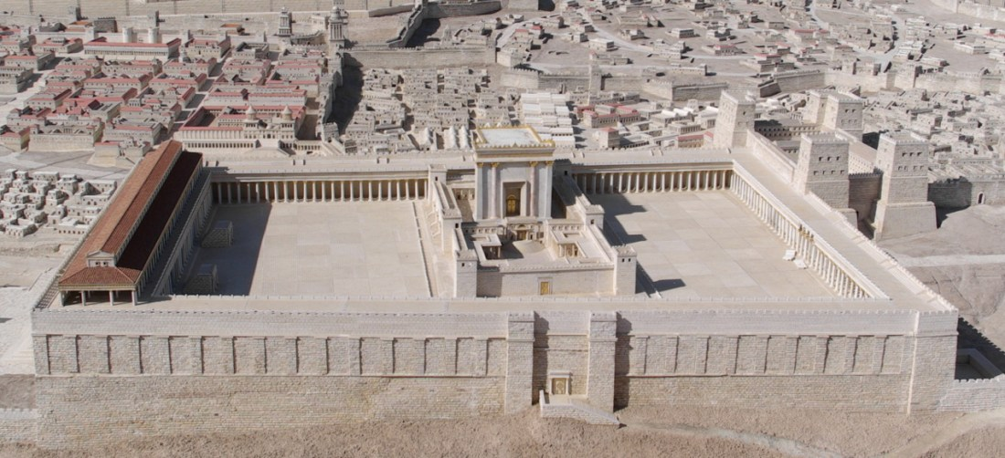 Temple Mount with the 2nd Temple 2