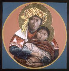 Guatemalan Madonna and Child
