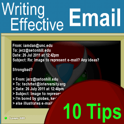 Email Tips Top 10 Strategies For Writing Effective Email Jerz S Literacy Weblog Est 1999
