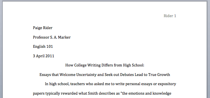 Please Write My Paper in MLA Style!