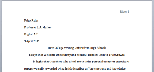 Research paper writers block