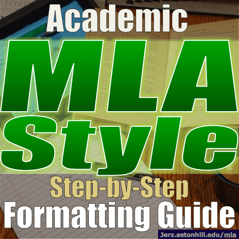 write research paper mla format step step