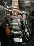"""This is the Ibanez Iceman. Its flipped counterpart is the """"Reverse Iceman,"""" or the """"Fireman."""" The distinctive design is as much about marketing and personality as about function."""