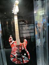 If I recall correctly, the Superstrat was custom-built by Eddie Van Halen; the new instrument made new music possible.