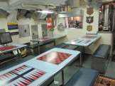 After the tour cleared out of the mess hall, I went back for a few more photos.