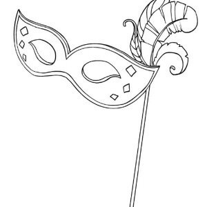 A-Typical-Mardi-Gras-Mask-for-Lady-Coloring-Page-300x300
