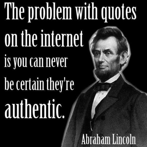 The Problem With Quotes On The Internet Jerzs Literacy Weblog
